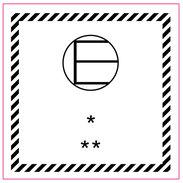 Fareseddel - E etikett