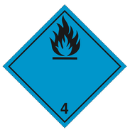 Klasse 4.3 - Skilt - 25 stk